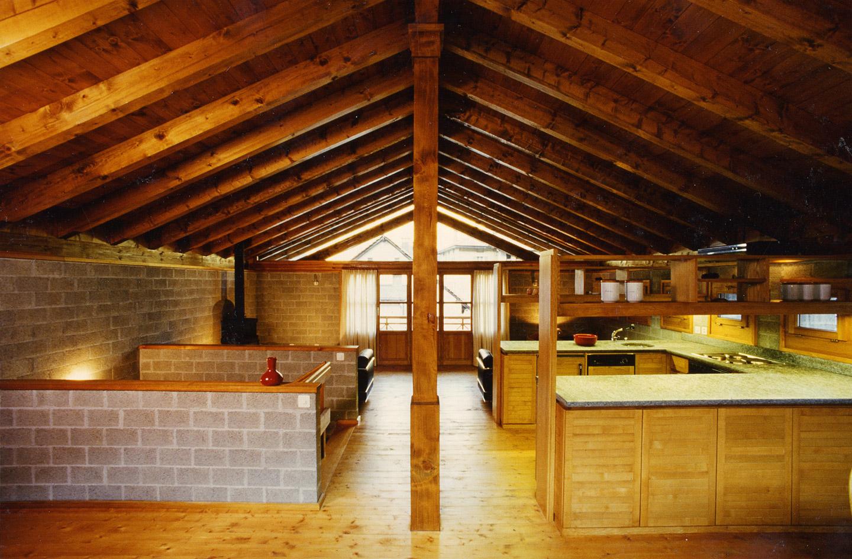 Casa prada architetto pietro boschetti lugano for Piani di fattoria in mattoni